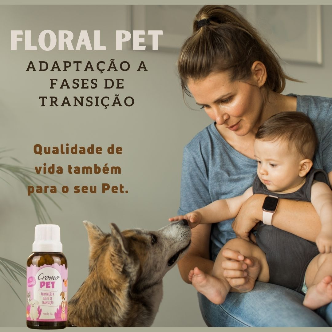 FLORAL PET ADAPTAÇÃO A FASES DE TRANSIÇÃO 26G - CROMO FLORIAS