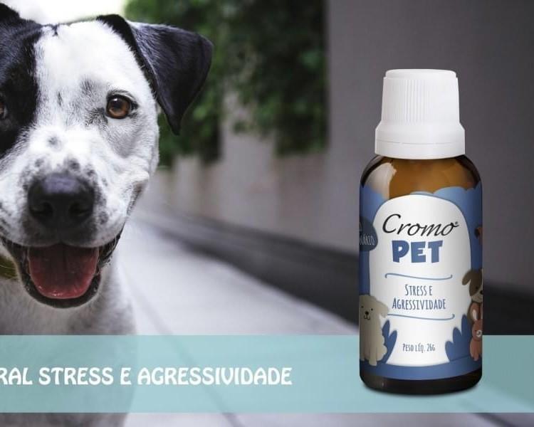 FLORAL PET STRESS E AGRESSIVIDADE 26G - CROMO FLORAIS