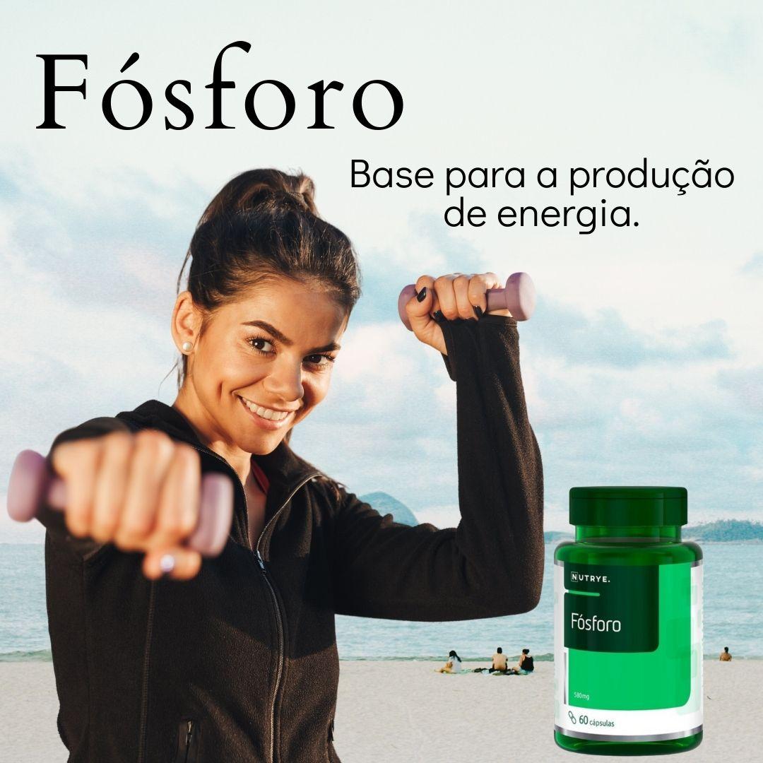FÓSFORO SUPLEMENTO MINERAL 60 CÁPSULAS - NUTRYE