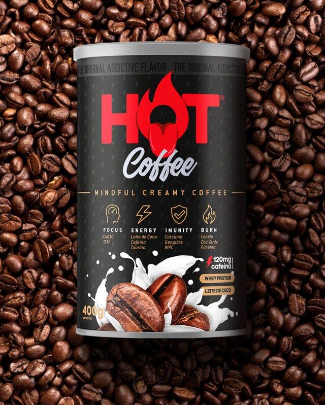 HOT COFFEE (CAFÉ TERMOGÊNICO) 400G - HOT FIT