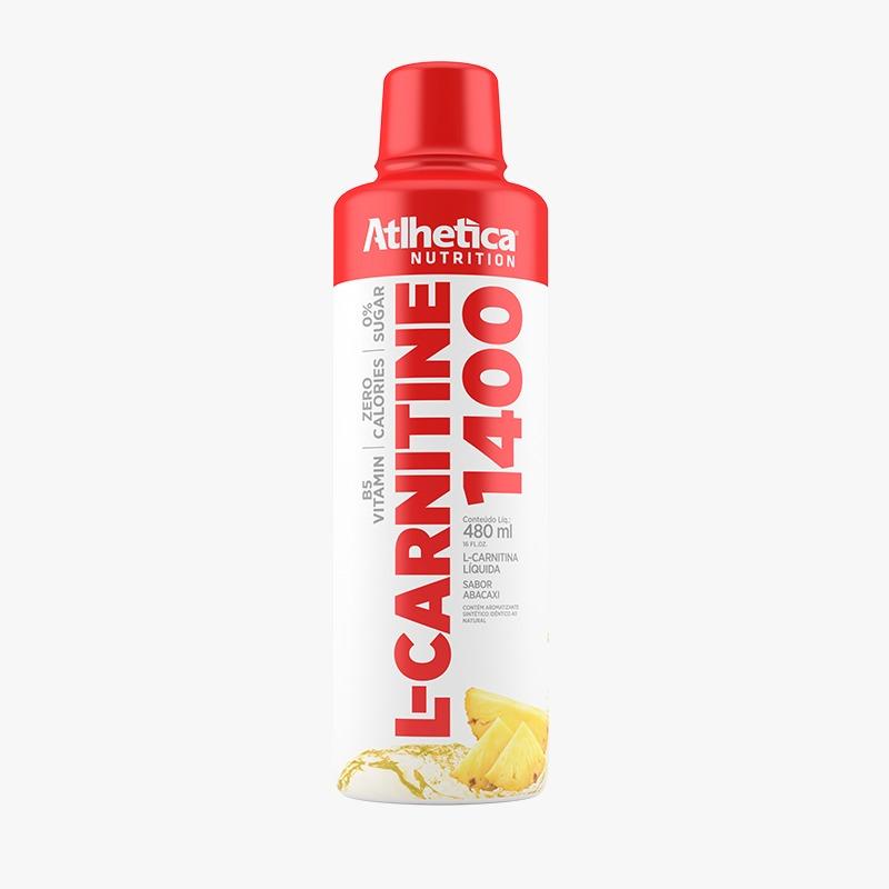 L-CARNITINA 1400 480ML ABACAXI - ATLHETICA NUTRITION