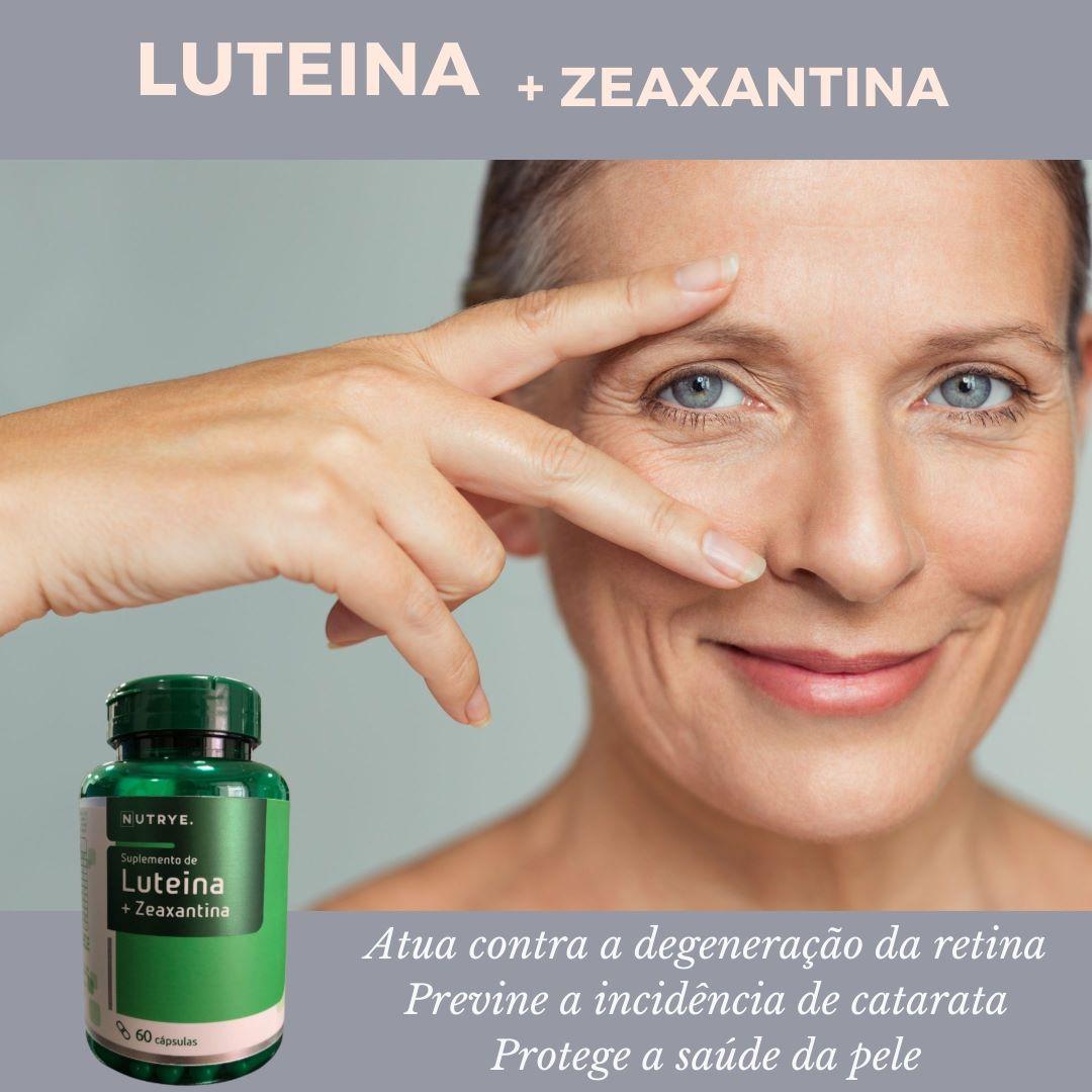 LUTEINA + ZEAXANTINA 60 CÁPSULAS - NUTRYE