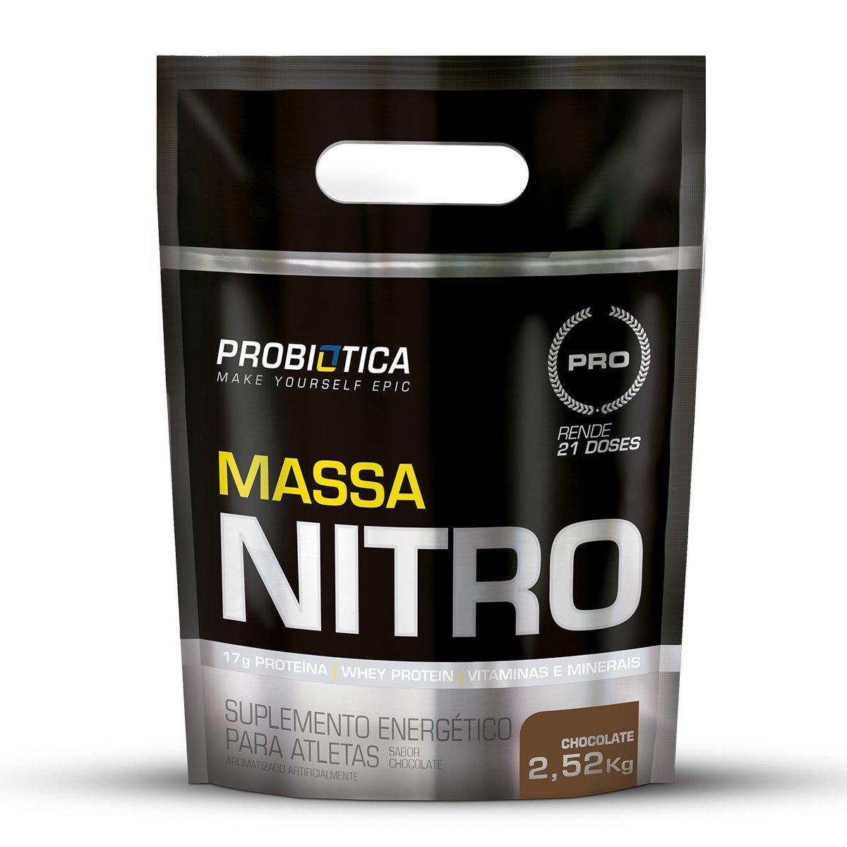 MASSA NITRO CHOCOLATE 2,52KG REFIL - PROBIÓTICA