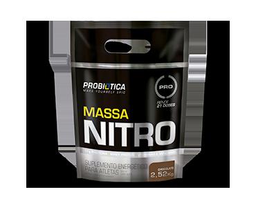 MASSA NITRO 2,52 kg CHOCOLATE PROBIÓTICA