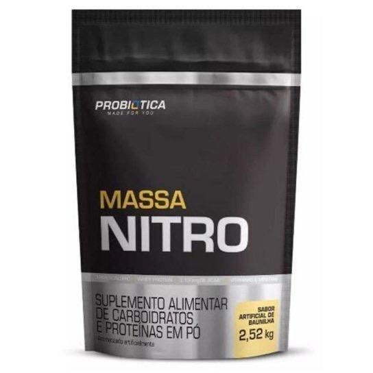 MASSA NITRO BAUNILHA REFIL 2,52KG - PROBIÓTICA