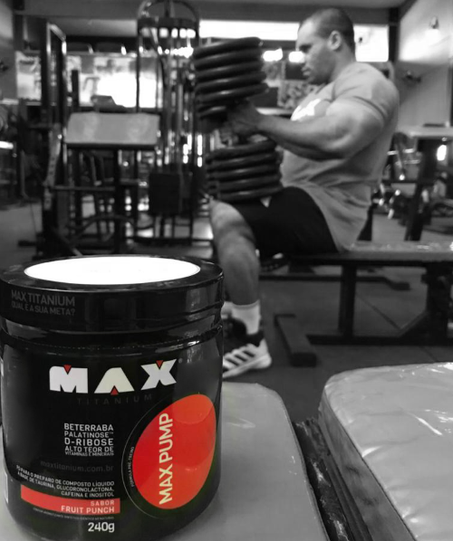 MAX PUMP FRUIT PUNCH 240G - MAX TITANIUM