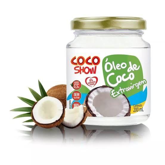 ÓLEO DE COCO EXTRA VIRGEM 500ML - COCO SHOW