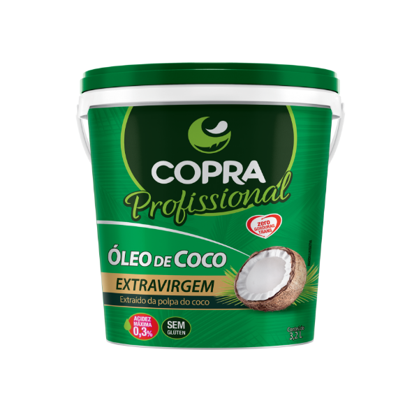 ÓLEO DE COCO EXTRAVIRGEM PROFISSIONAL 3,2l - COPRA