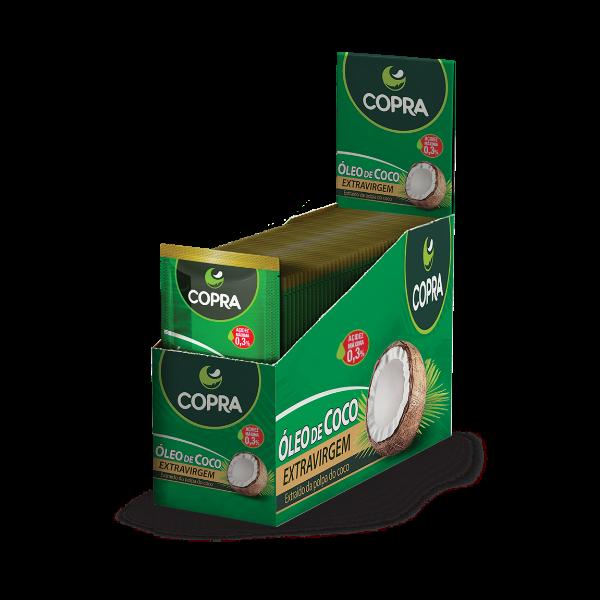 ÓLEO DE COCO EXTRAVIRGEM SACHÊ COPRA