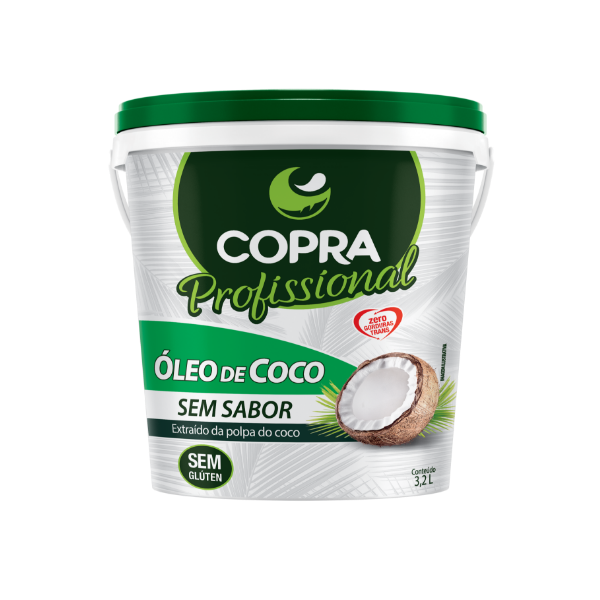 ÓLEO DE COCO SEM SABOR PROFISSIONAL 3,2L - COPRA