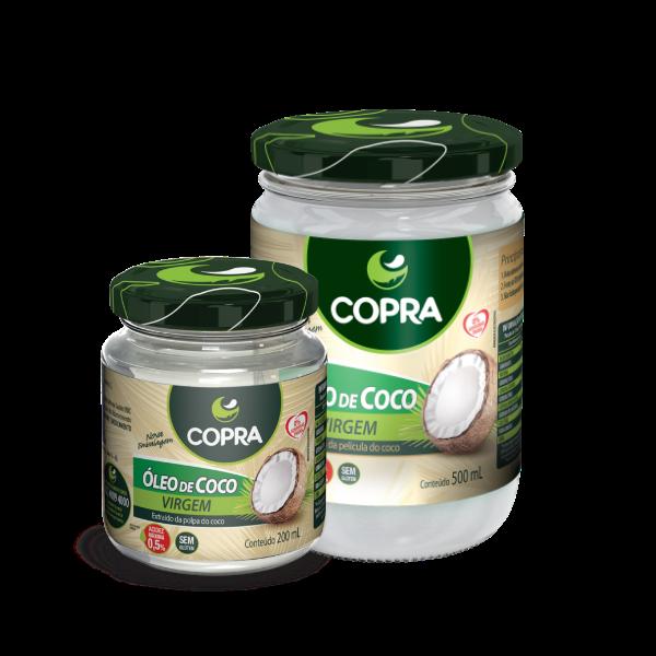 ÓLEO DE COCO VIRGEM COPRA 200 ml