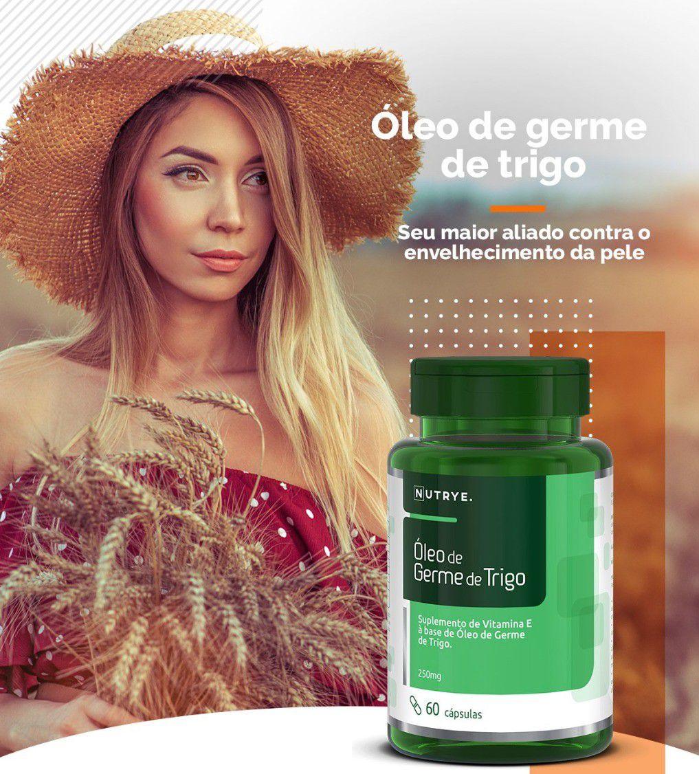 ÓLEO DE GERME DE TRIGO 60 CÁPSULAS - NUTRYE