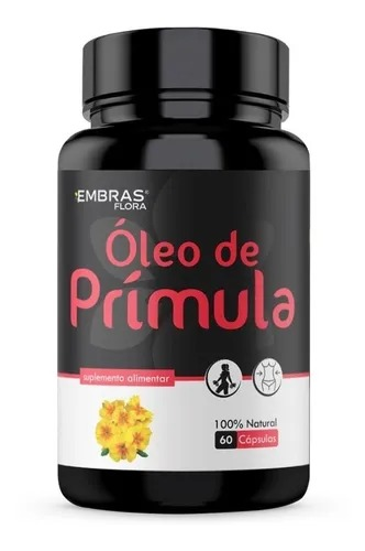 ÓLEO DE PRÍMULA 60 CÁPSULAS - EMBRASFLORA