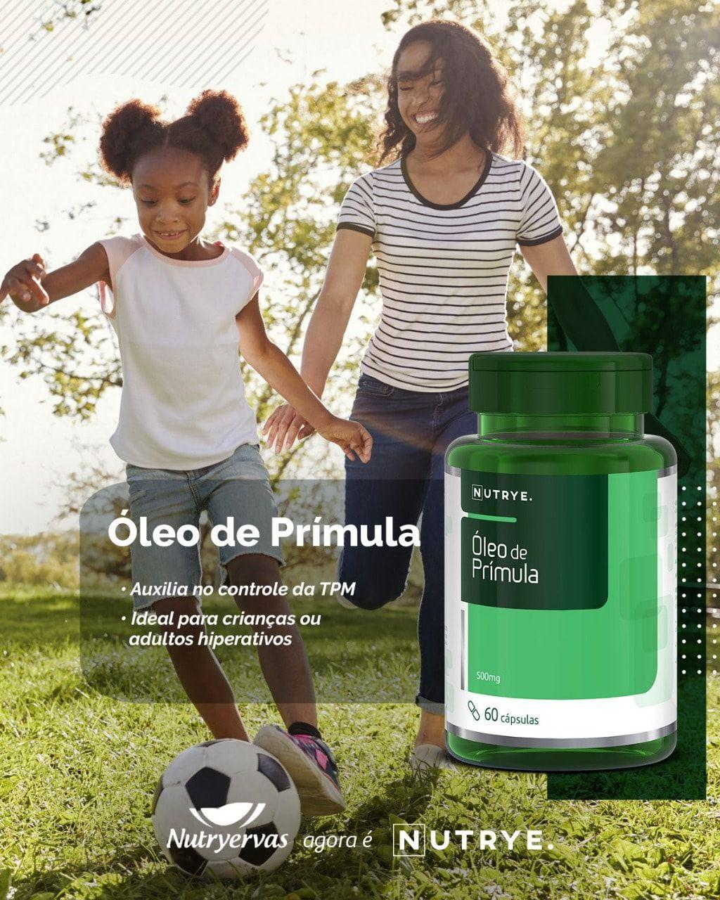ÓLEO DE PRÍMULA NUTRYERVAS 60 CÁPSULAS
