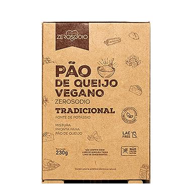 PÃO DE QUEIJO VEGANO TRADIOCINAL 230G - ZEROSÓDIO
