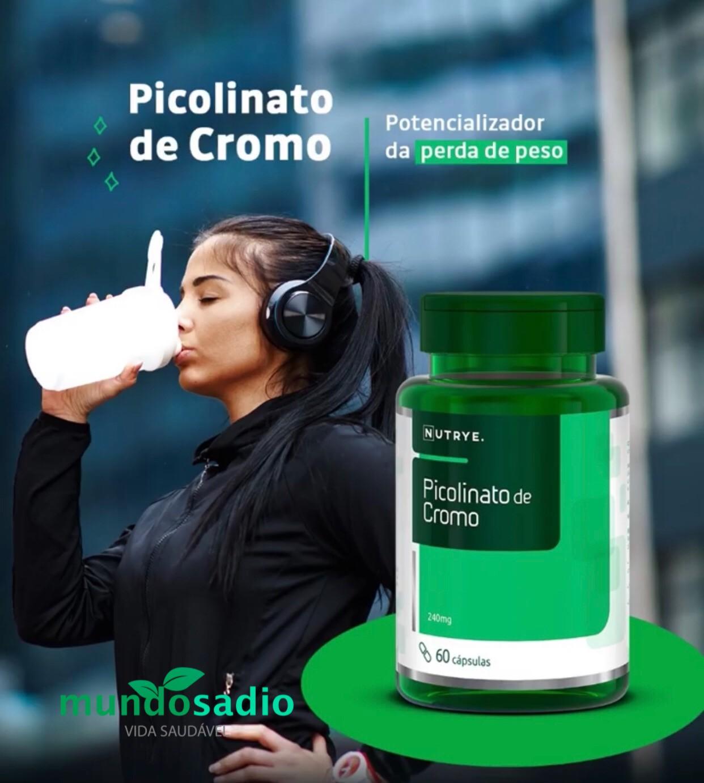 PICOLINATO DE CROMO 60 CÁPSULAS NUTRYERVAS