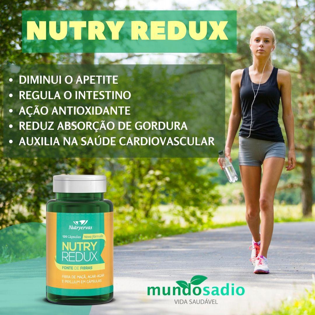 NUTRY REDUX - REDUTOR DE MEDIDAS NUTRYERVAS 120 CÁPSULAS