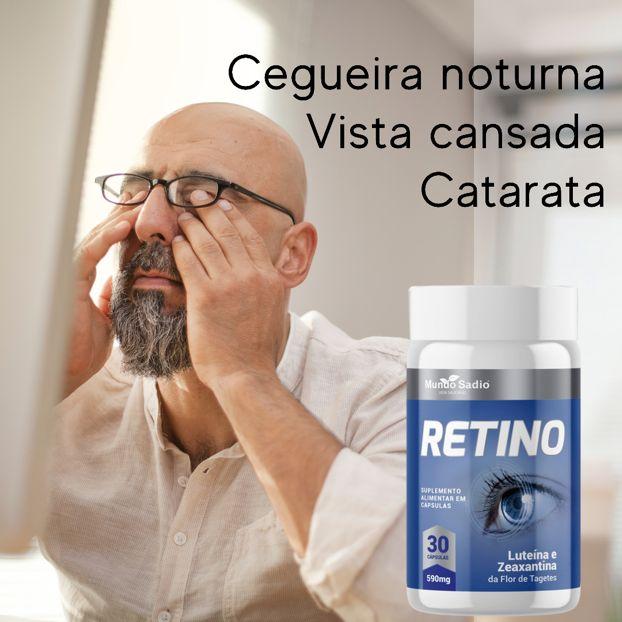 RETINO 590MG 30 CÁPSULAS - MUNDO SADIO