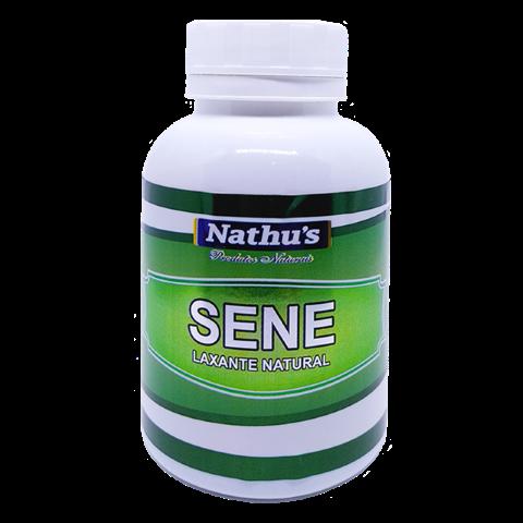 SENE (LAXANTE NATURAL) 500MG 120 CÁPSULAS - NATHU'S