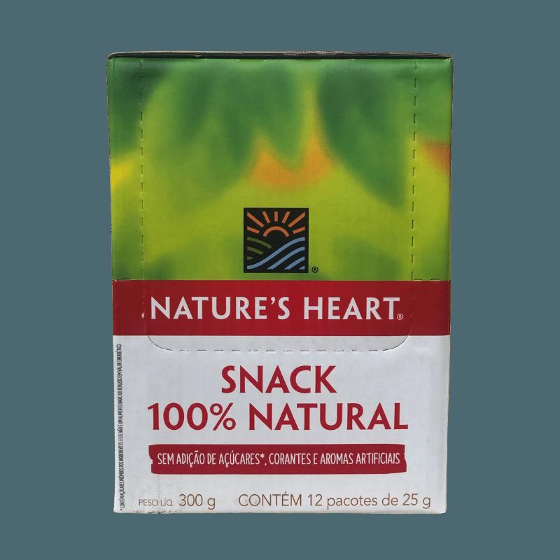 SNACK CRANBERRY NUTS CAIXA COM 12 PACOTES DE 25G - NATURE'S HEART
