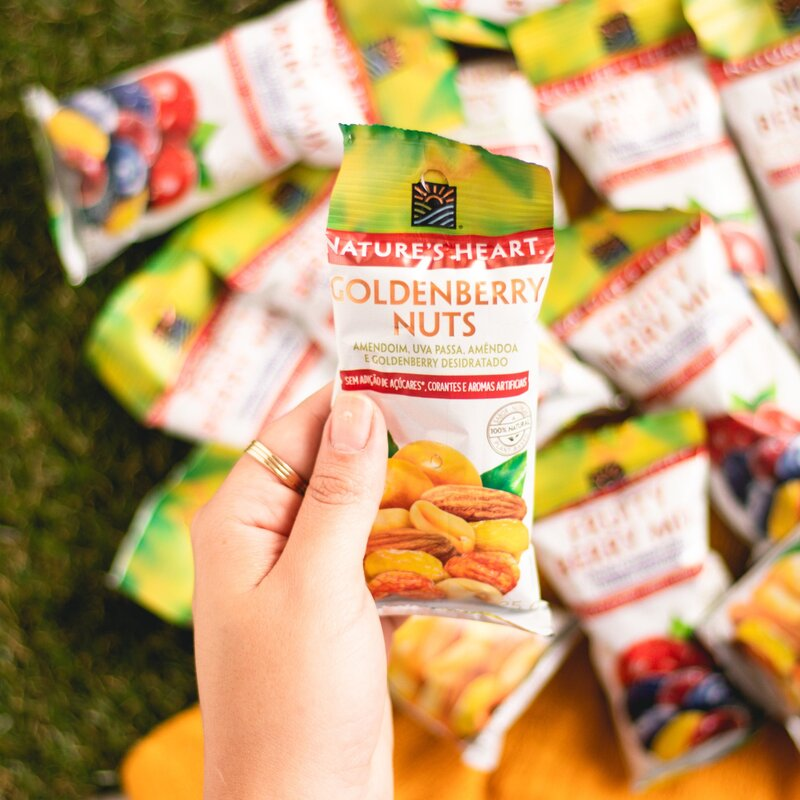 SNACK GOLDENBERRY NUTS 25G - NATURE´S HEART