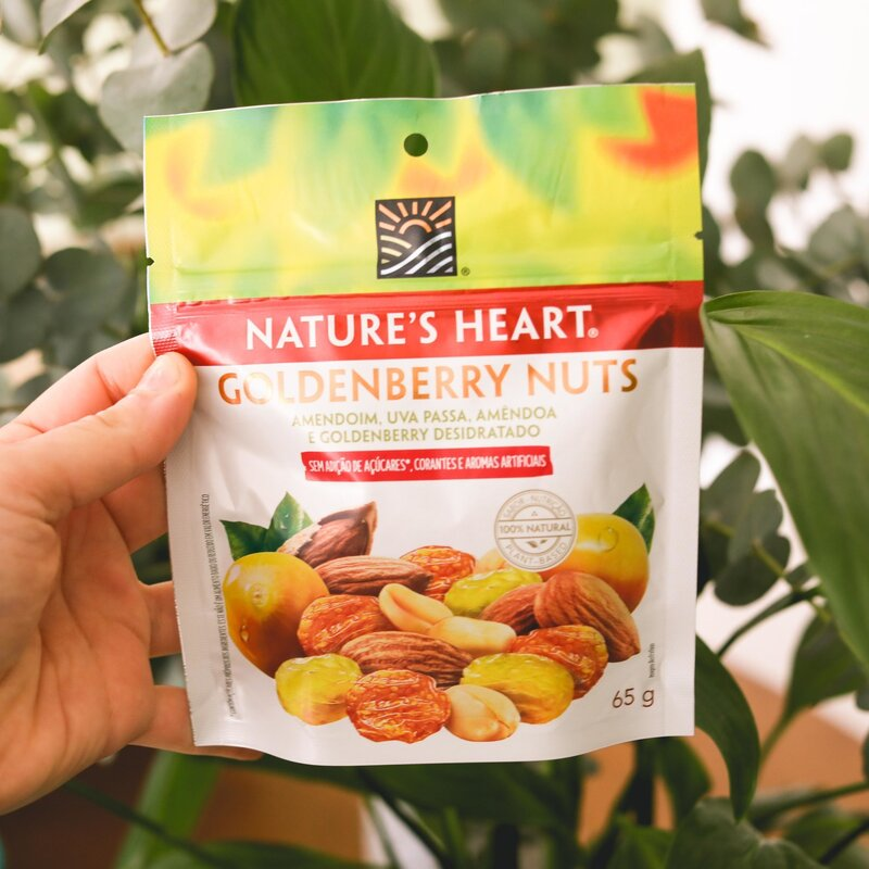 SNACK GOLDENBERRY NUTS 65G - NATURE'S HEART