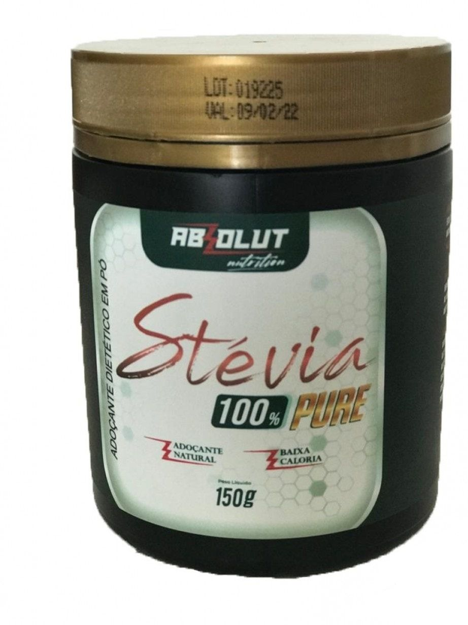 STÉVIA 100% PURE 150G - ABS NUTRITION