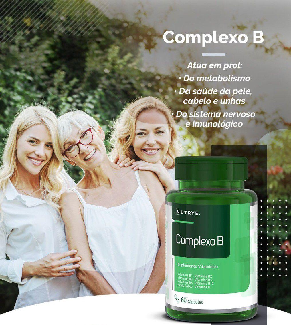 SUPLEMENTO COMPLEXO B 60 CÁPSULAS - NUTRYERVAS