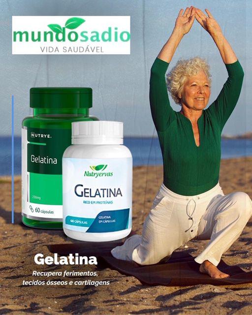 SUPLEMENTO DE GELATINA NUTRYERVAS 60 CÁPSULAS