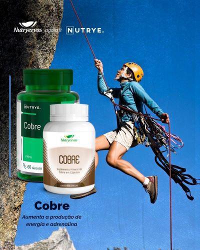 SUPLEMENTO MINERAL COBRE 60 CÁPSULAS - NUTRYERVAS