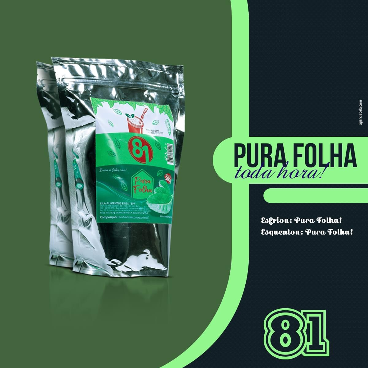 TERERÉ PURA FOLHA 500G - MATE 81