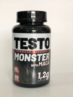 TESTO MONSTER (TRIBULLUS TERRESTRIS MACA PERUANA) 1,200MG 90 TABLETES