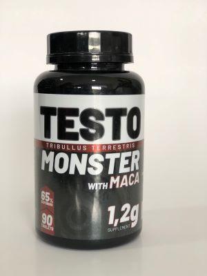 TESTO MONSTER (TRIBULLUS TERRESTRIS MACA PERUANA) 1,200MG 90 TABLETES