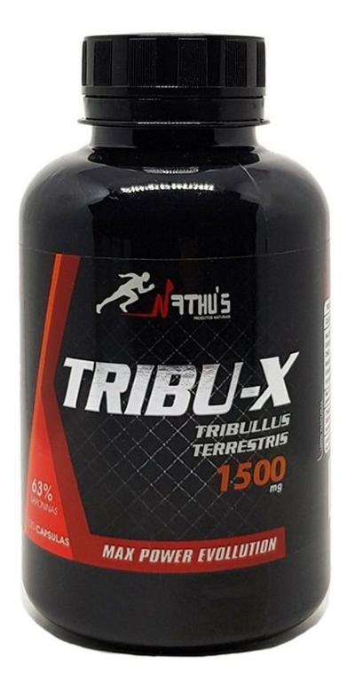 TRIBU-X (TRIBULUS TERRESTRIS) 1500MG 120 CÁPSULAS - NATHU'S
