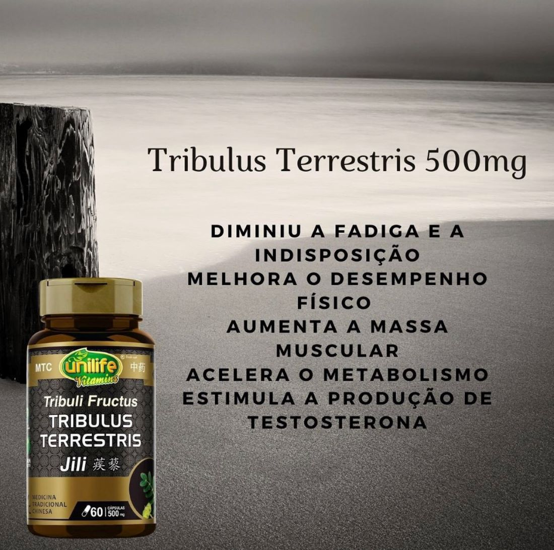 TRIBULUS TERRESTRIS 500MG UNILIFE 60 CÁPSULAS