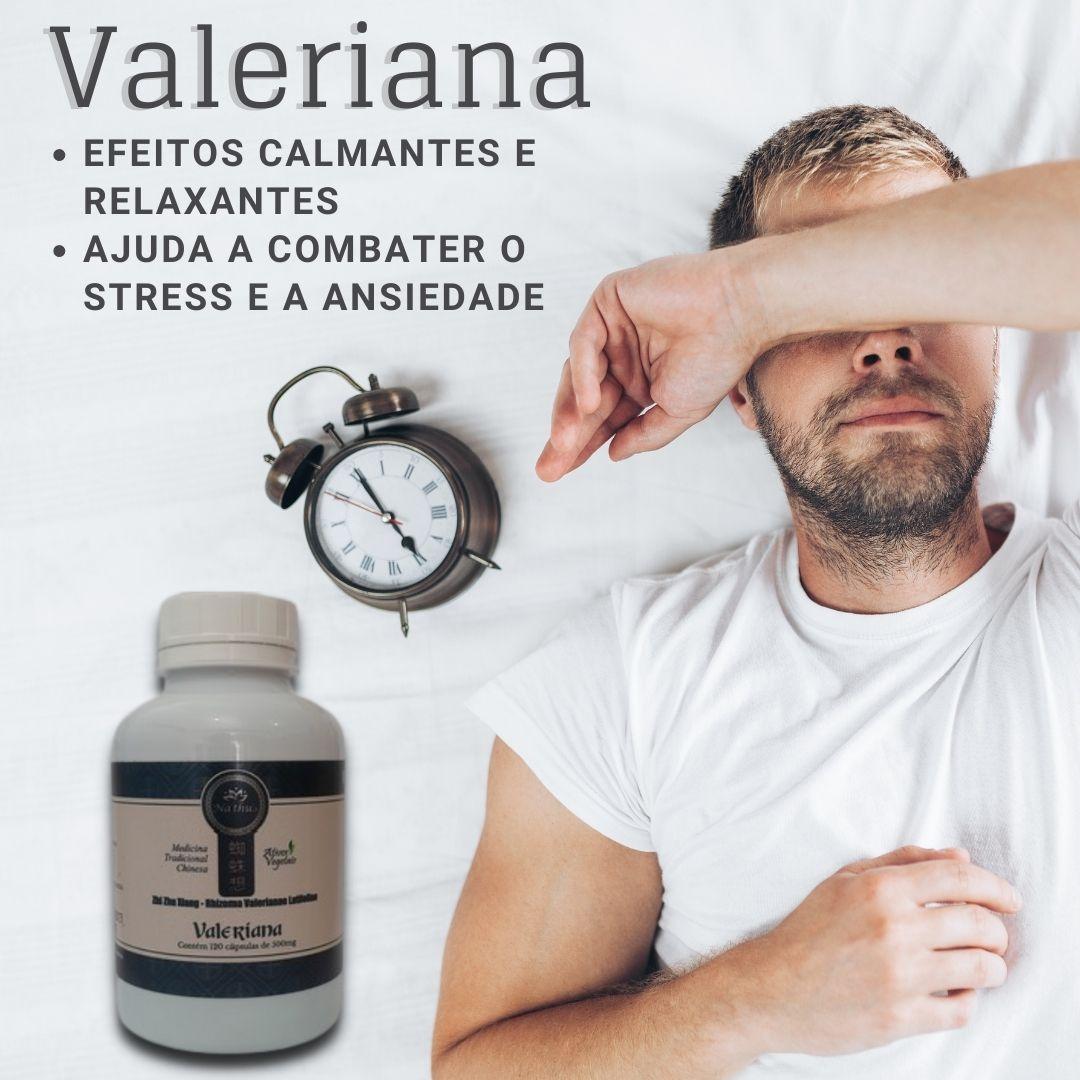 VALERIANA MTC 500MG 120 CÁPSULAS - NATHU'S
