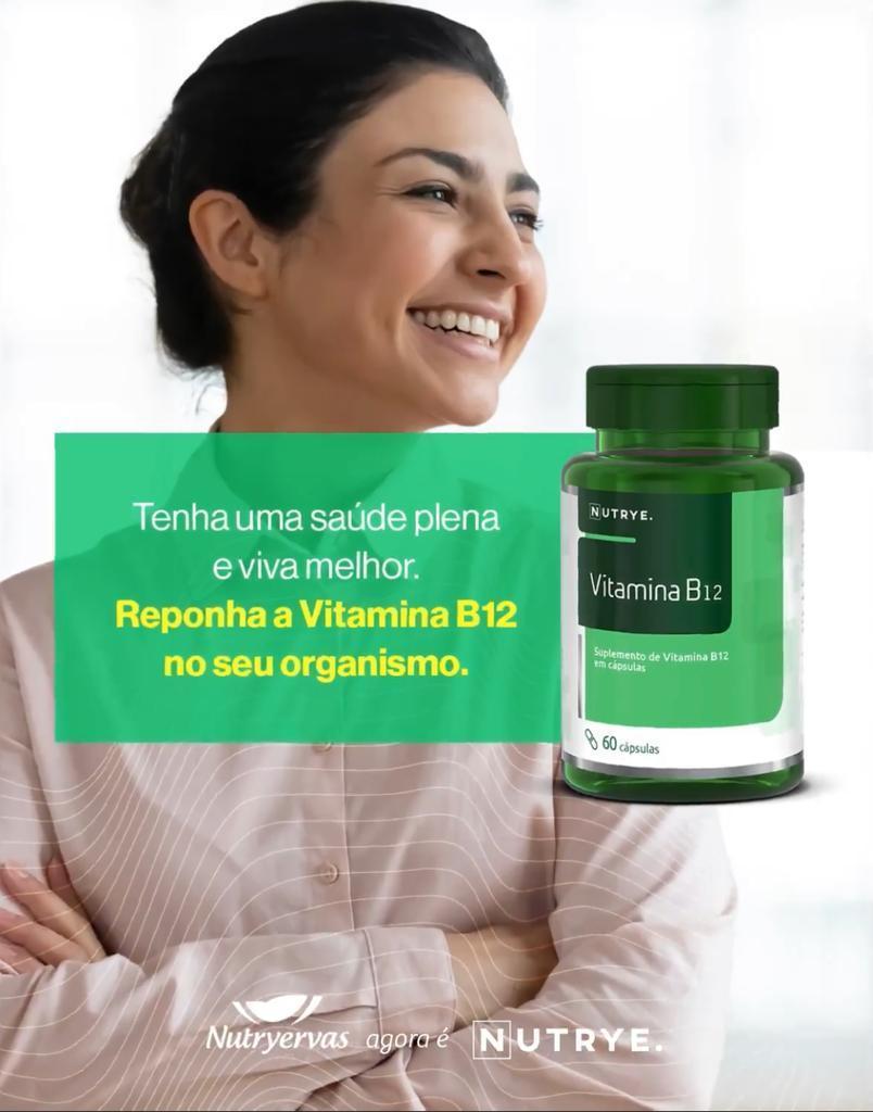 VITAMINA B12 60 CÁPSULAS - NUTRYE