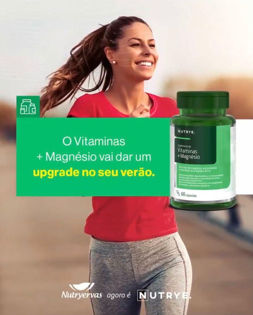 VITAMINAS + MAGNESIO 60 CÁPSULAS - NUTRYE