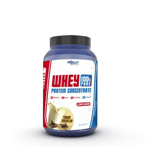 WHEY 100% PURE CONCENTRADO 900G BAUNILHA - ABS NUTRITION