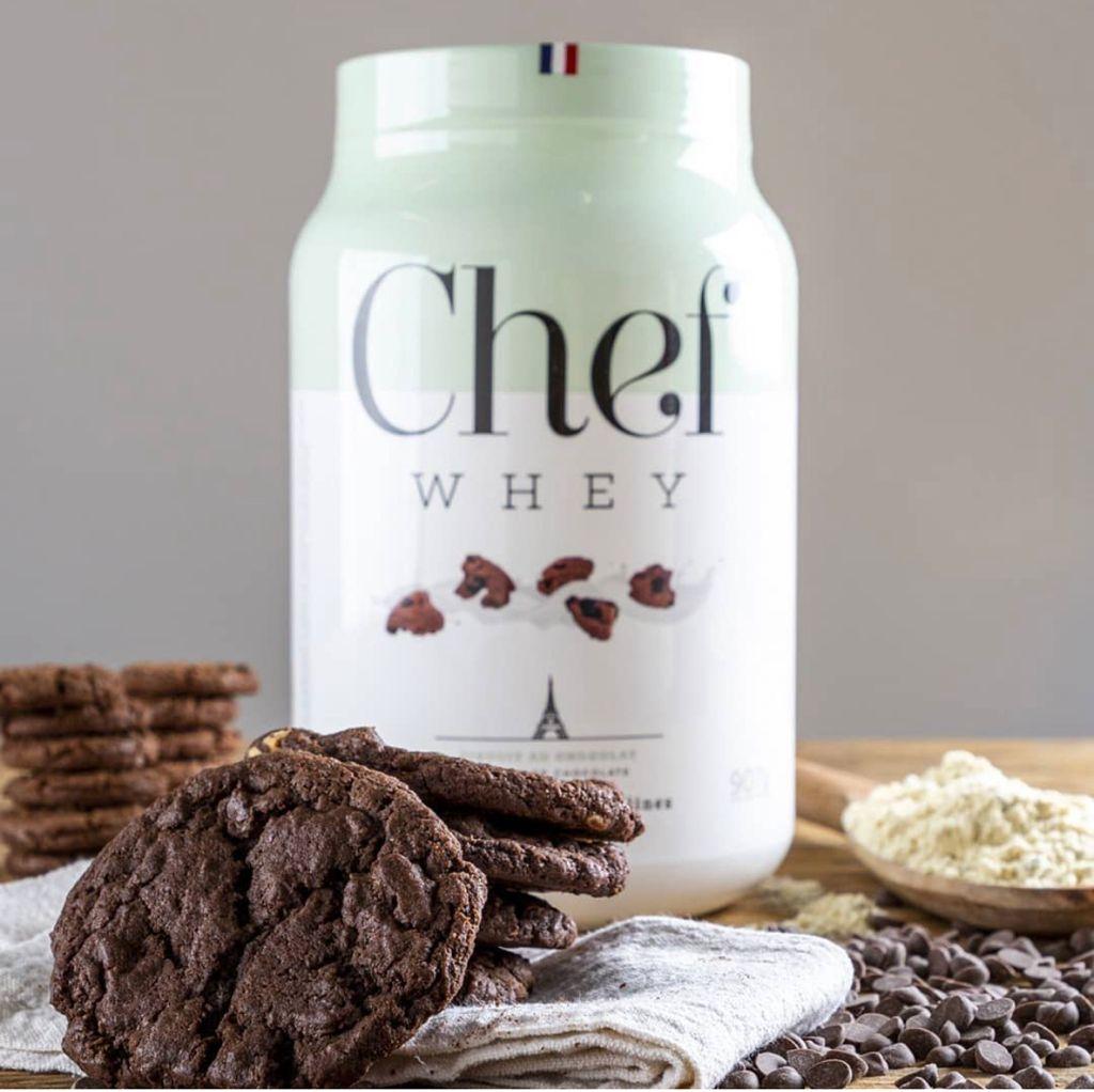 WHEY CONCENTRADO SEM LACTOSE COOKIES DE CHOCOLATE 907G - CHEF WHEY