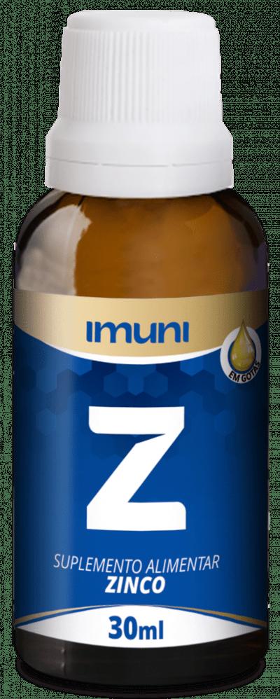 ZINCO EM GOTAS 30ML IMUNI