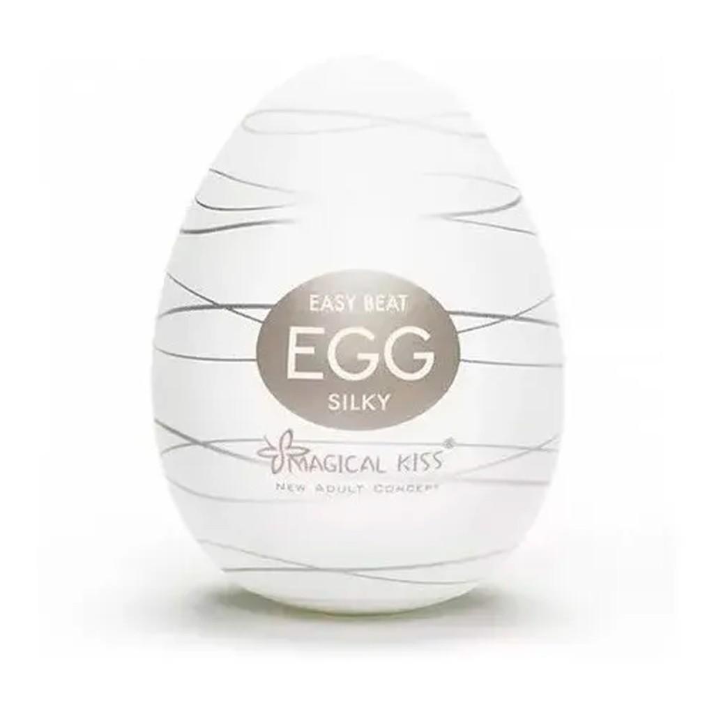 Ovo Masturbador Massageador Egg Magical Kiss para Homens e Mulheres - Unidade