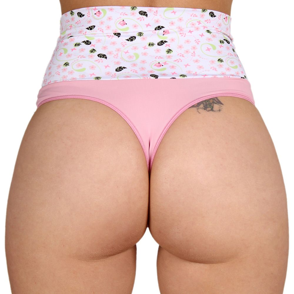 Tanga Fio Dental Cós Modeladora Hot Pants 10064 - By Sex Lingerie