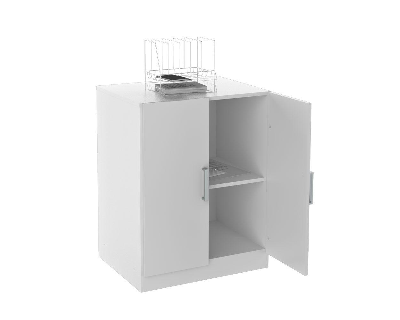 Balcão para Escritóro Office Plus branco