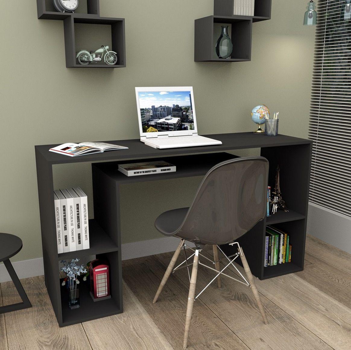 Mesa Para Computador Com Nichos Appunto