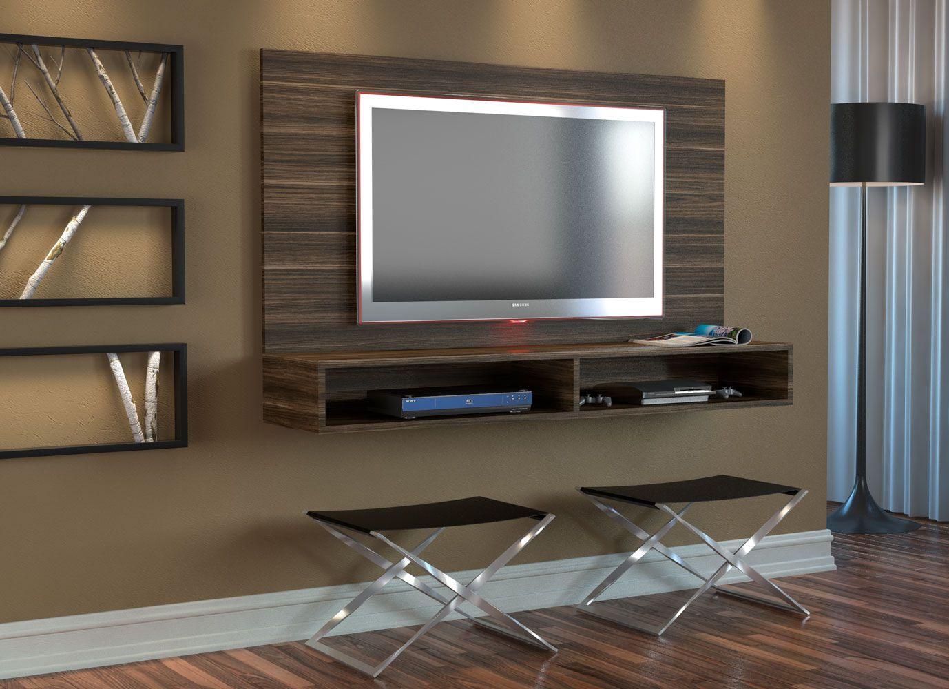Rack Painel 2 Nichos Para Tv até 40 Polegadas Appunto