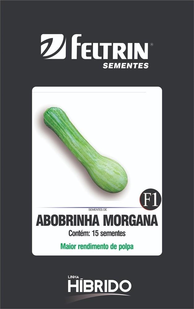 Abobrinha Morgana - contém 15 sementes