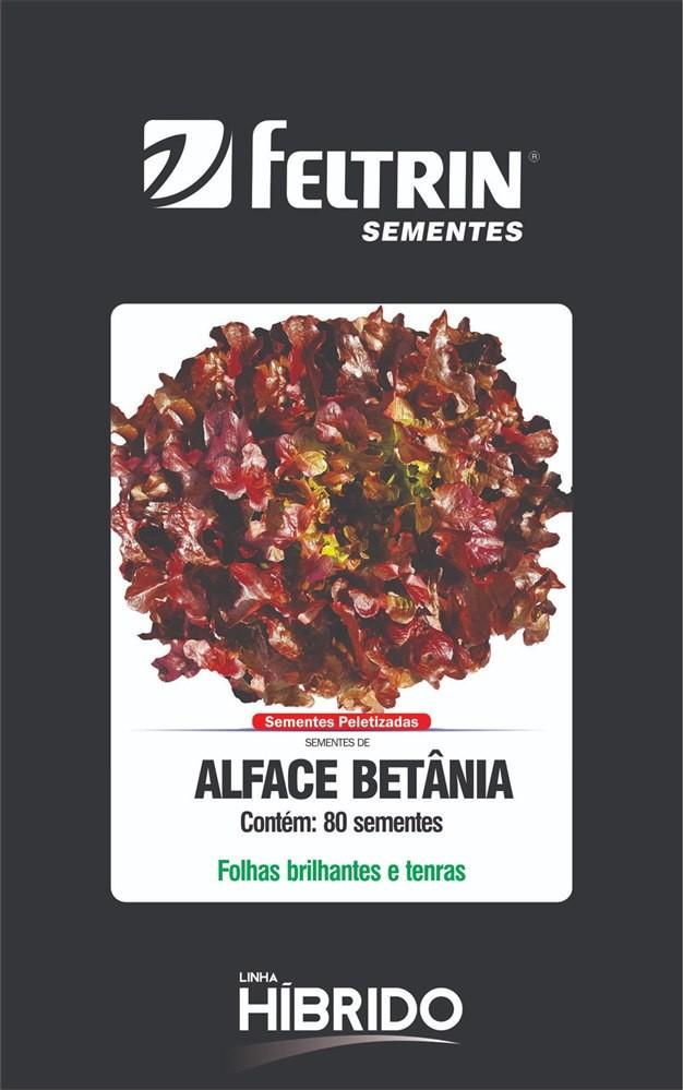 Alface Betania - contém 80 sementes Peletizada(s)