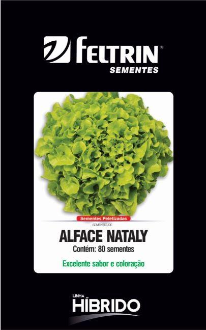Alface Nataly - contém 80 sementes Peletizada(s)