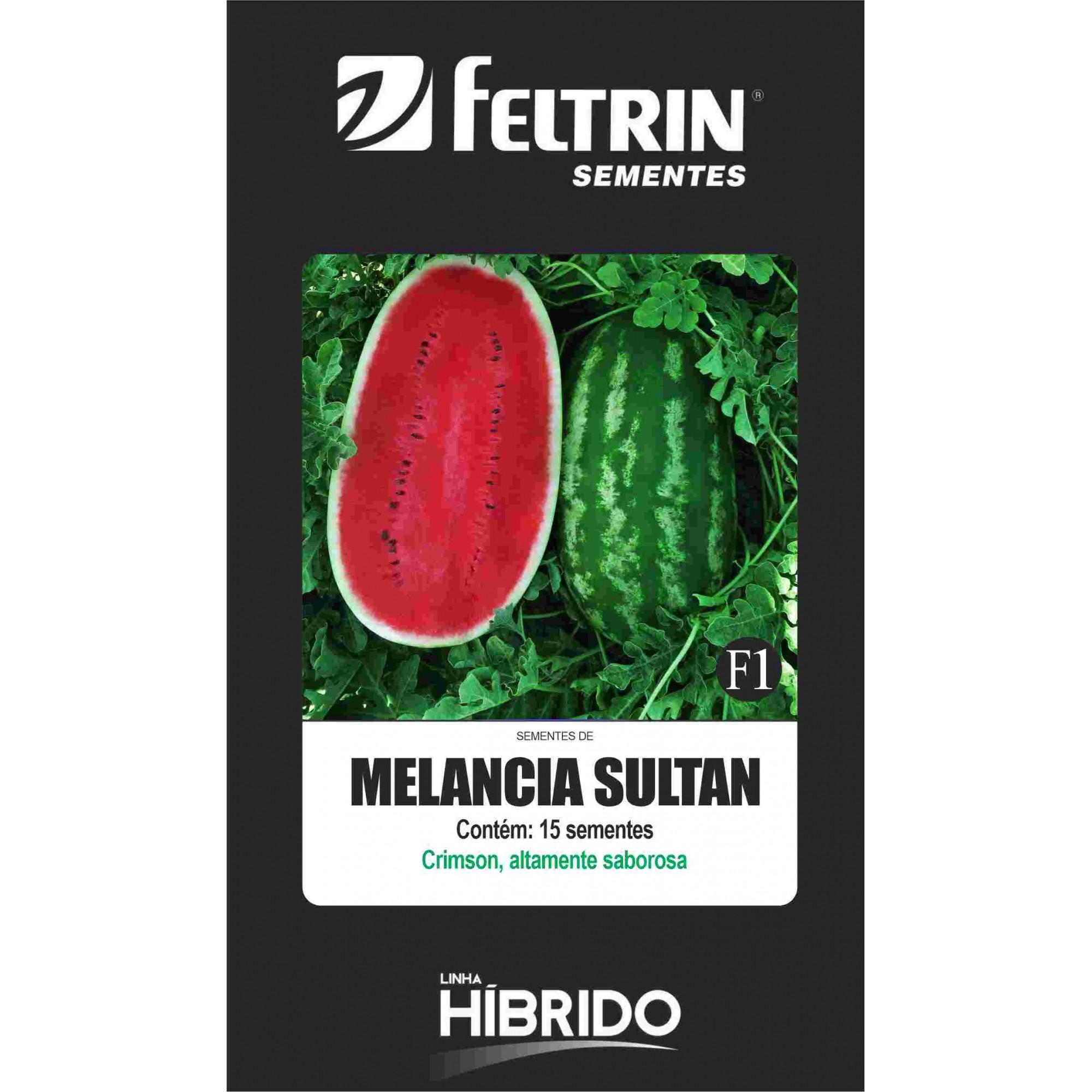 Melancia Sultan - contém 15 sementes